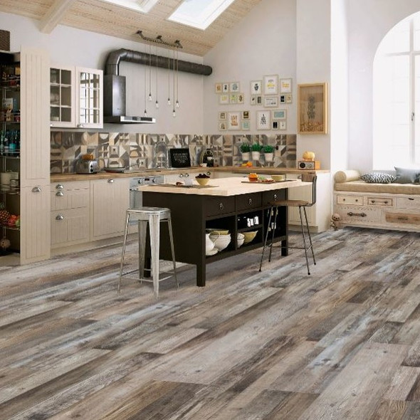 SPC Rustic Barnwood 12MM Flooring