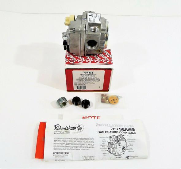 Robertshaw 24 Volt 700-402 Combination Gas Valve Uni-Kit Model 70000BE & 7000BER