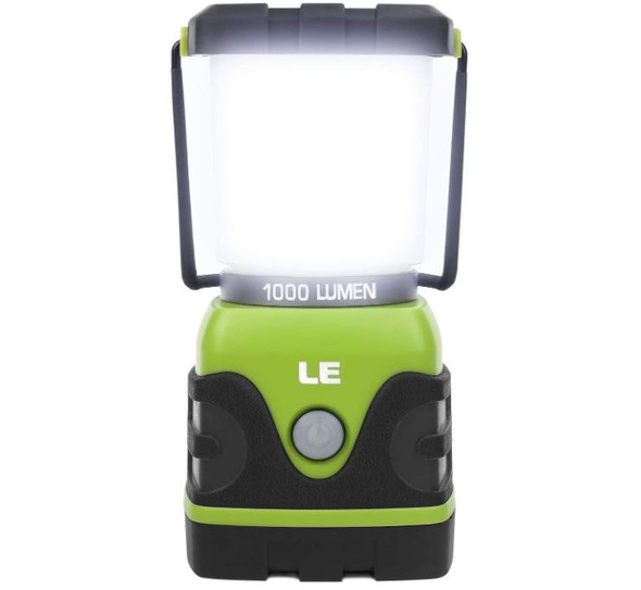 LE Lighting Ever LED Camping Lantern Model - OPEN BOX *BATTERIES NOT INCLUDED