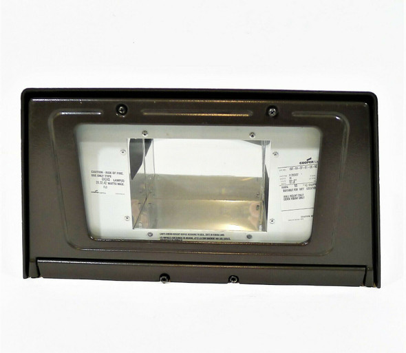 Cooper Lighting Bronze Fluorescent Metal IST-64-CF-E1-2S-BZ-L Wall Pack