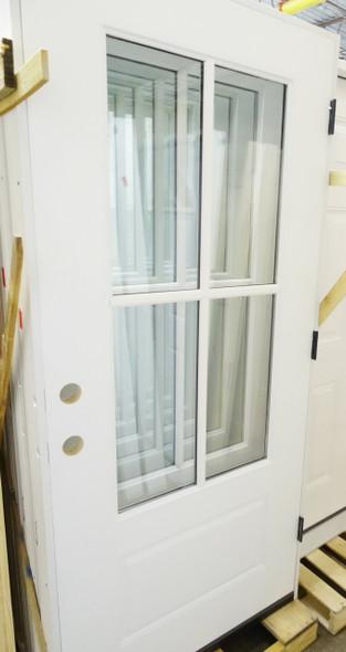 3/4 Lite 4-Way Divided Window Door