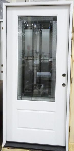 3/4 Lite Decorated Window Door