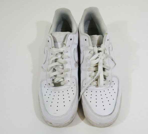 Nike Air White Lace Up Men's Casual Sneakers Size 11