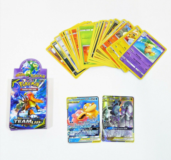 Pokemon Trading Card Game Sun and Moon Team Up COMPLETE/ INCOMPLETE?