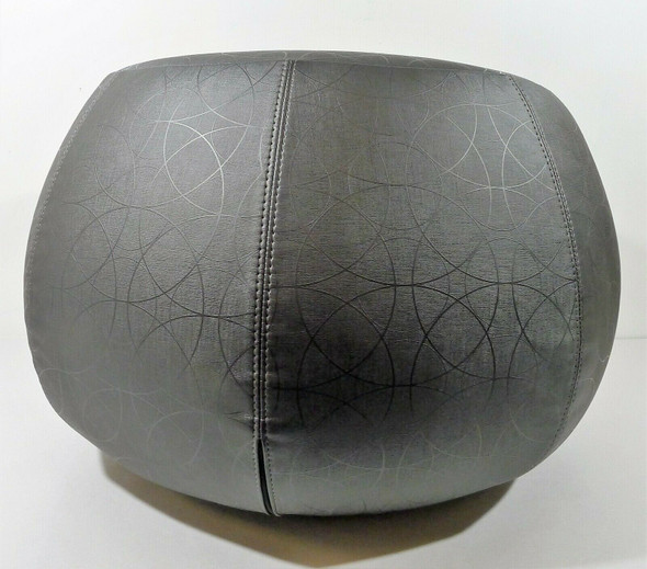 Arper Gray Single Seat Pouf Ottoman **SEE DESCR. - LOCAL PICKUP ONLY, AUSTIN TX