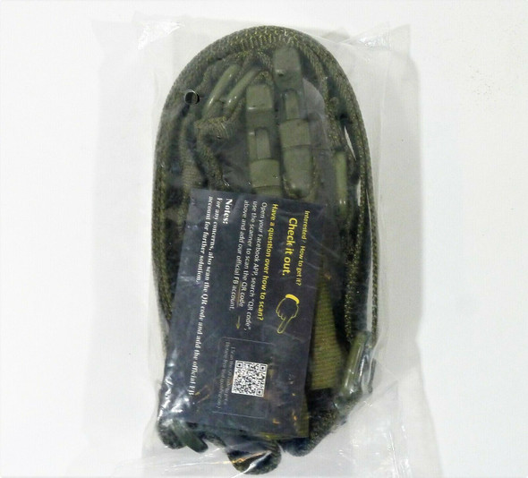 Imoislab Green Two Points Traditional Sling Adjustable Rope for Outdoor - NEW