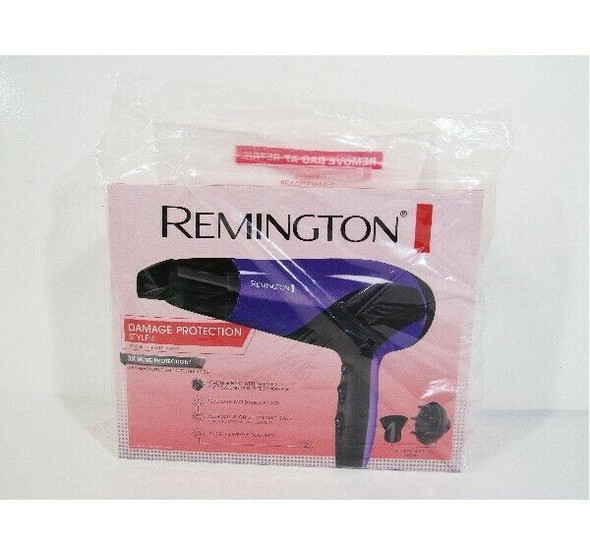Remington Damage Protection Styler w/ Concentrator & Diffuser **NEW IN PACKAGE