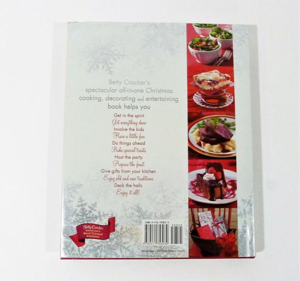 Betty Crocker Christmas Cookbook Hardcover Book