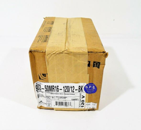 Lumiere Black Westwood 903-50MR16-BK 50W Halogen Side Mounted Wall Fixture NEW