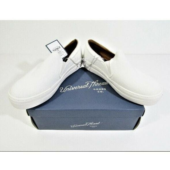 Universal Thread Women's White Alvina Sneakers Size 6.5 **NEW IN BOX**
