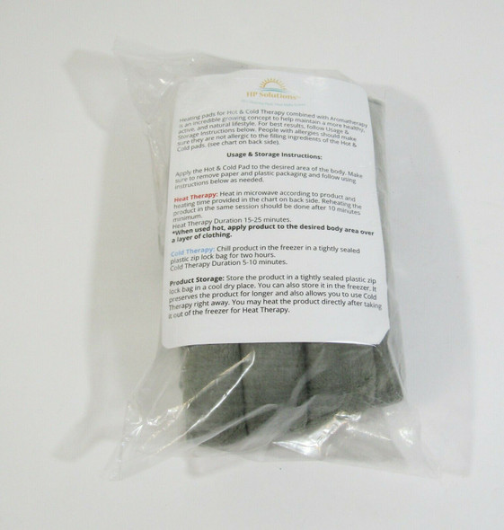 HP Solutions Hot & Cold Lavender Scented Rice Heating Pad **NEW IN PACKAGE**