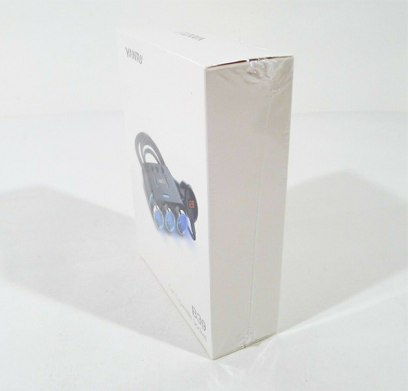 Yantu Car Cigarette 3 Socket Splitter with LED Voltage Display B39 - NEW