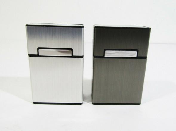 Roygra Aluminum Cigarette Case 2 Pack 85mm King Size **NEW, OPEN BOX**