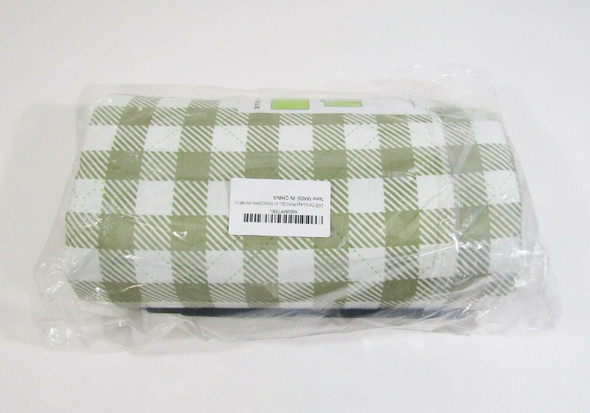 "Zaze Extra Large Outdoor Waterproof Picnic Blanket 80"" x 80"" **NEW IN PACKAGE**"
