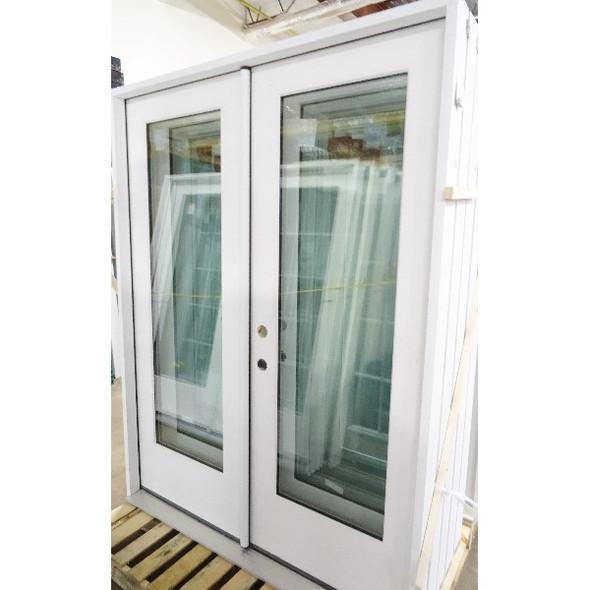 5/0 French Door Full Lite - No Blinds