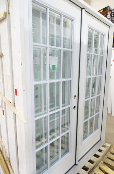 15-Grid Window French Door Size 5/4