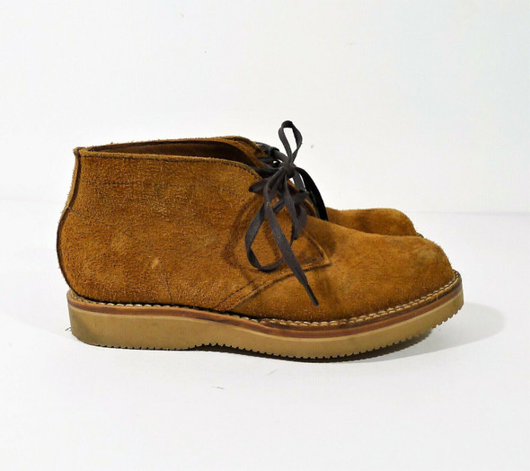 Viberg Boots Men's Brown Suede Chukka Boot Size 7 - **SEE DESCRIPTION