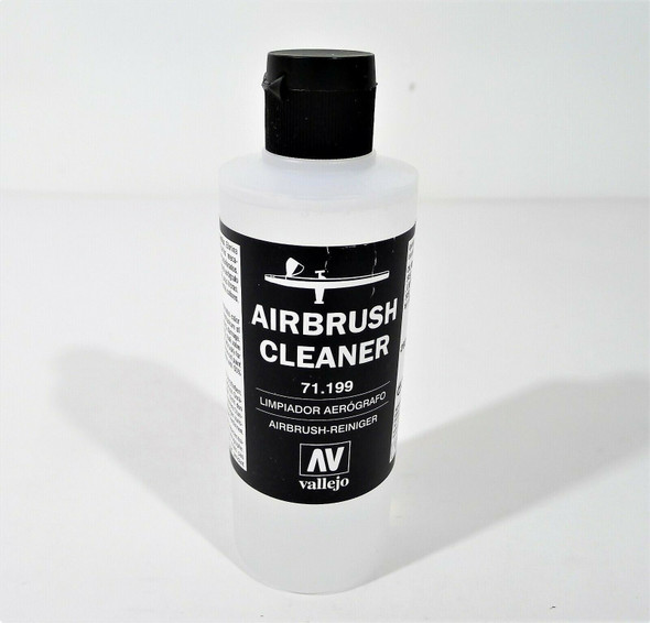 6 Bottles Vallejo Auxiliary Products Airbrush Cleaner 6.76 fl oz - OPEN BOX