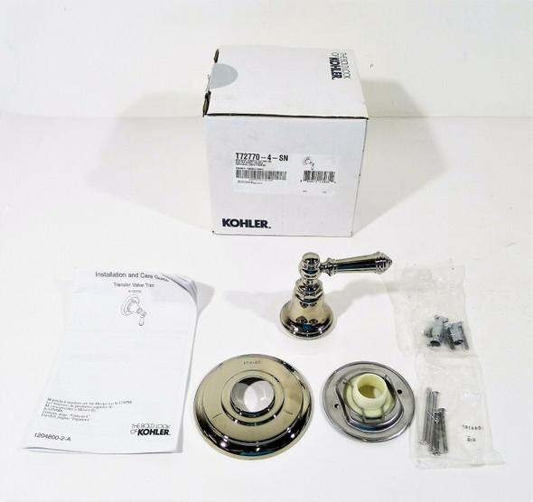 Kohler Lever Shower Handle Trim Only in Polished Nickel T72770-4-SN  **OPEN BOX