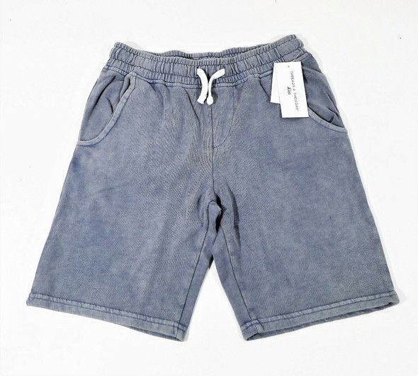 Threads 4 Thought Boy's Blue Cotton Blend Shorts Size 14 - NEW WITH TAGS