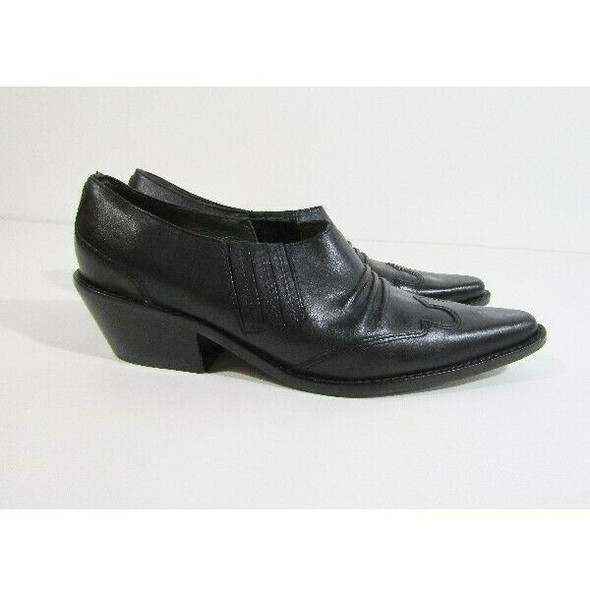 Matisse Women's Black Leather Pointed Toe Loafers Size 7.5