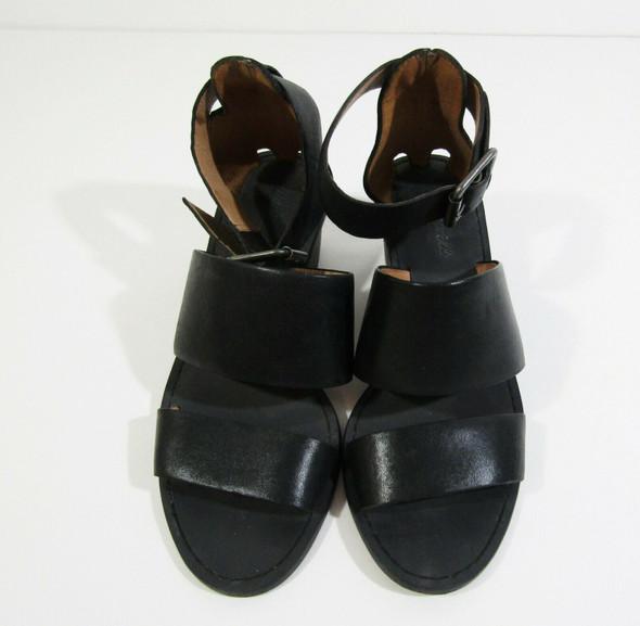 Madewell Women's Black Open Toe Strappy Warren Sandals Size 6