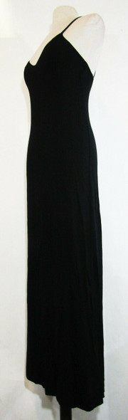Fabletics Women's Black Evelyn Maxi Dress Size S, 4-6 **NEW WITH TAGS**