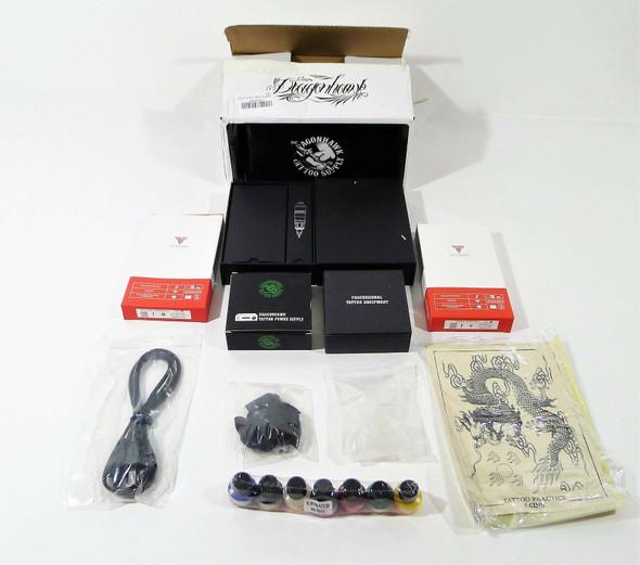 Dragonhawk Cartridge Tattoo Machine Atom Pen Kit Rotary Tattoo Machine *OPEN BOX