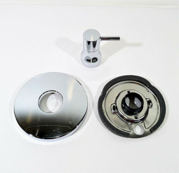 Kohler TS8981-4-CP Rite-Temp Valve Trim Only w/ Lever Handle in Polished Chrome