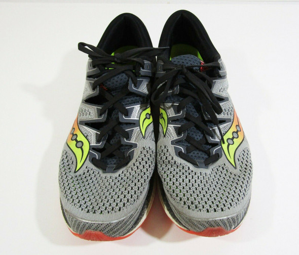 Saucony Triumph ISO 5 Men's Gray Form Fit Running Shoes Size 13 **Has Stain**
