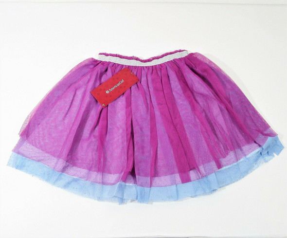 American Girl Children's Ruffles Tiered Skirt Size Large 14/16 Plus Doll Outfit