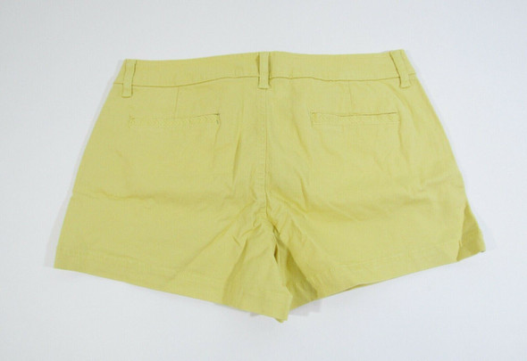 Market & Spruce Women's Yellow Elicia Shorts Size 8 **NEW WITH TAGS**