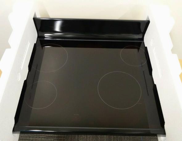 GE Black Glass Top Rangetop WB62X20907  NEW  - LOCAL PICKUP ONLY, AUSTIN TX