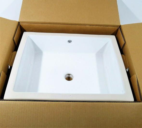 Kohler Verticyl Rectangle Under-Mount Bathroom Sink LOCAL PICKUP ONLY, AUSTIN TX