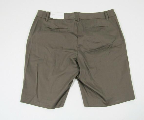 Loft Women's Brown Straight Through Hip & Thigh Shorts Size 10 **NWT**