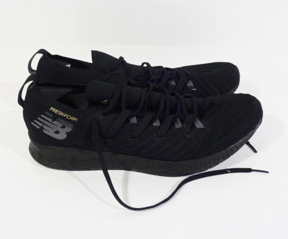 New Balance Fresh Foam Zante Black Trainers Men's Size 13