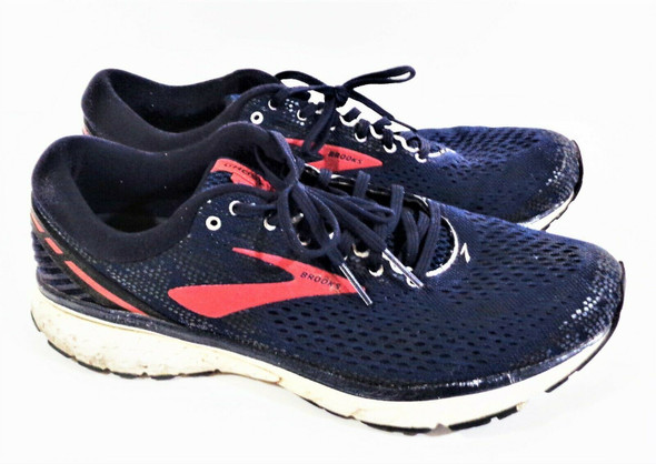 Brooks Ghost 11 Men's Sneakers Size 13 Navy, Red, & White 1102881D428