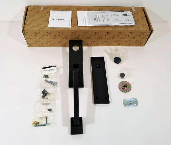 Baldwin 85391.412.FDX Dummy Set Less LVR 412 in Venetian Bronze - OPEN BOX