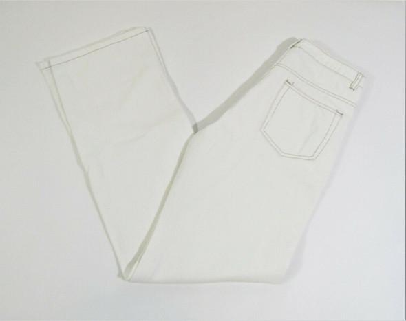 Beige Botany Women's Off White Slit Leg Jeans Size Small **NEW w/ Defect**
