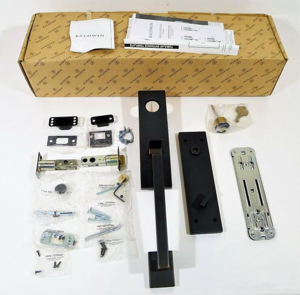 Baldwin 85391.412.ENTRX EE Set Less LVR 412 in Venetian Bronze - OPEN BOX
