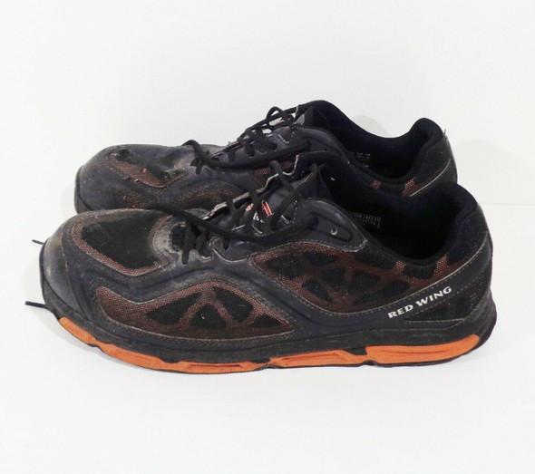 Red Wing Safety Toe Athletic Work Shoe in Orange & Black Men's SZ 13 *No Soles*