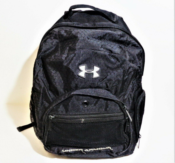 Under Armour Black Laptop Backpack w/ Bottom Storage Compartment