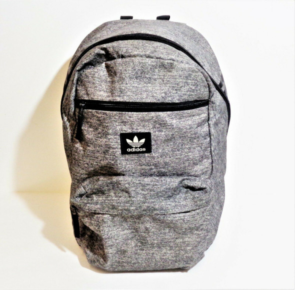 Adidas Grey & Black Backpack *Has Interior Ink Stains*