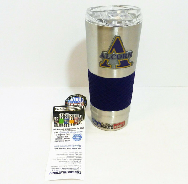 Alcorn State University 24oz. Stainless Steel Hot/Cold Insulated Beverage Mug