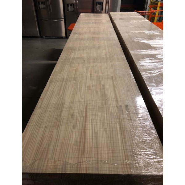 """Pine Butcher Block Table Counter Top 1-3/4"""" x 25"""" x 96"""" NEW"""