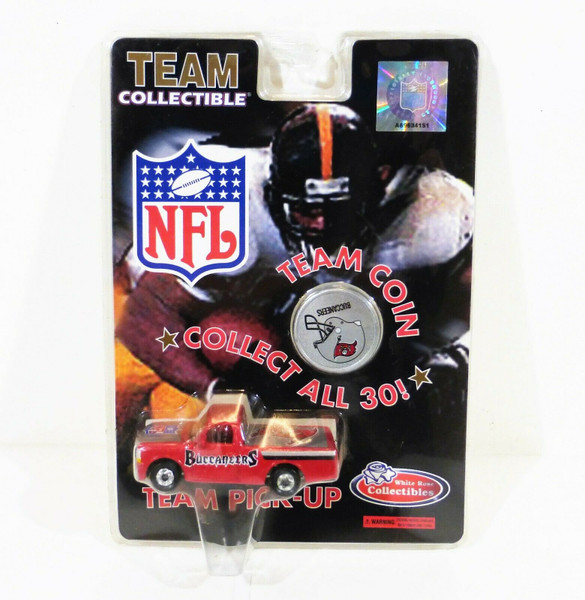 1998 NFL Team Collectible Tampa Bay Buccaneers Team Pick-Up Truck  NEW