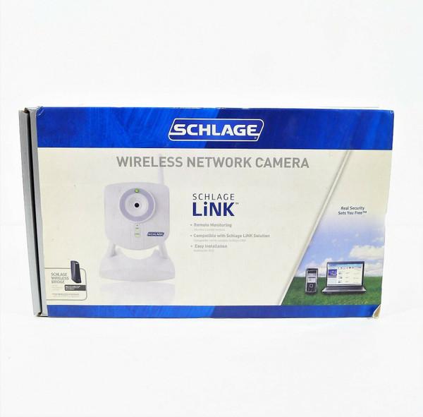 Schlage LiNK White Wireless Network Camera Model WCW100 - OPEN BOX
