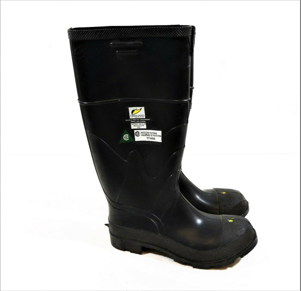 ONGUARD Economy Men's Steel Toe and Midsole Knee Boots Cleated Size 8 NWT