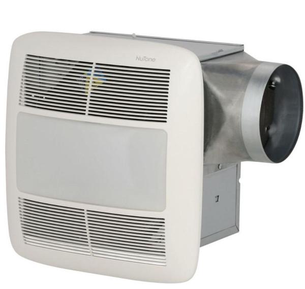 NuTone Ultra Single Speed DC Motor Ventilation Fan with Light XN110L - OPEN BOX