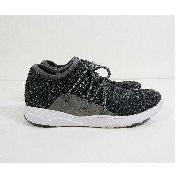 Vessi Cityscape Gray & White Lightweight Women's Waterproof Sneakers Size W10